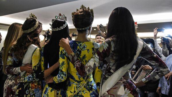 Účastnice soutěže Miss Venezuela - Sputnik Česká republika