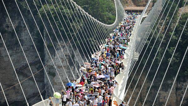 Skleněný most - Sputnik Česká republika