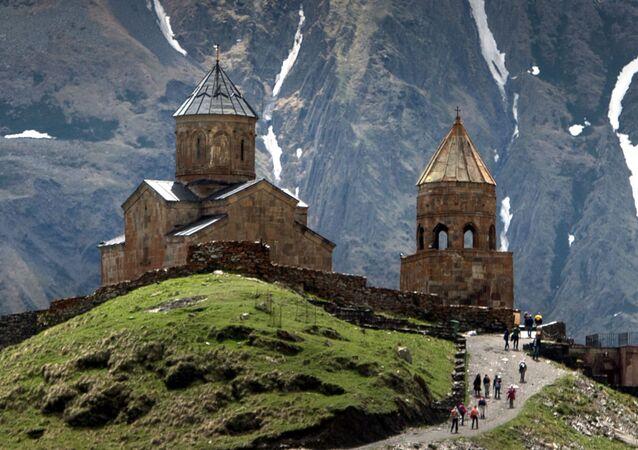 Gergetský kostel Nejsvětější Trojice