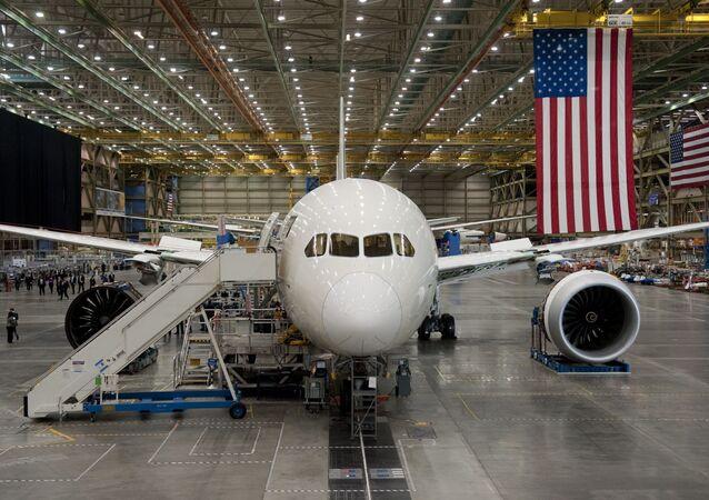 Boeing-787 Dreamliner. Ilustrační foto