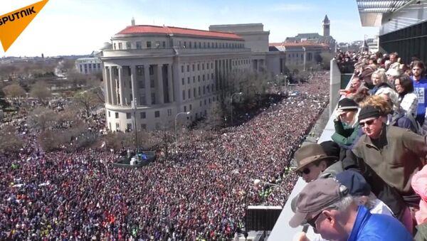 Protesty USA - Sputnik Česká republika