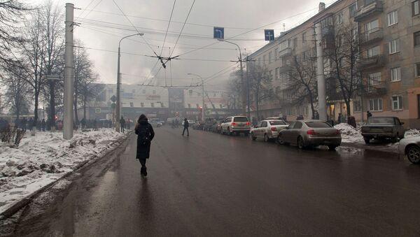 Požár obchodního centra v Kemerovu - Sputnik Česká republika