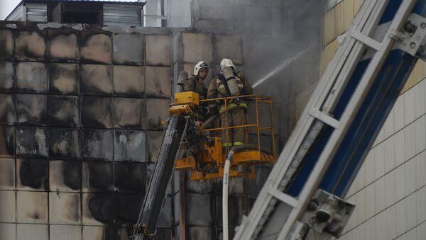 Požár v obchodním centru v Kemerovo - Sputnik Česká republika