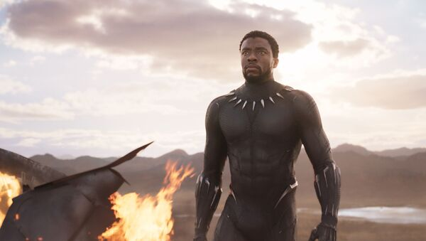 Záběr z filmu Black Panther od Marvel Comics - Sputnik Česká republika