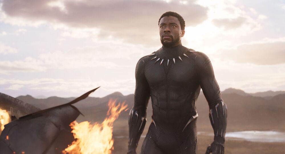 Záběr z filmu Black Panther od Marvel Comics