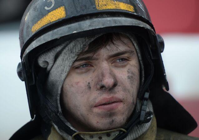 Požár v Kemerovo