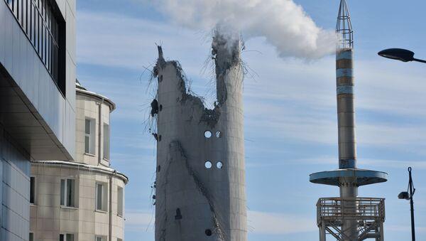 Nedokončená věž v Jekatěrinburgu - Sputnik Česká republika