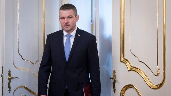 Slovenský premiér Peter Pellegrini - Sputnik Česká republika