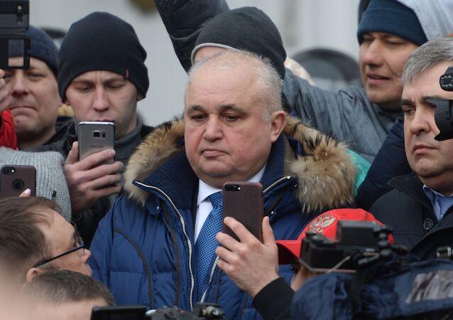 Viceguvernér Kuzbasu Sergej Civilev