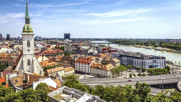 Centrum Bratislavy - Sputnik Česká republika
