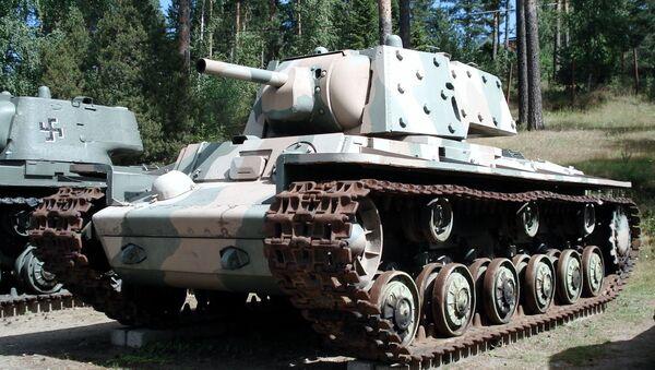 Tank KV - Sputnik Česká republika