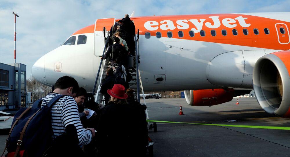 Letoun easyJet Aurbus A319-111 OE-LQN