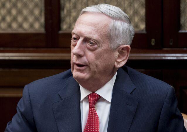Šéf Pentagonu James Mattis