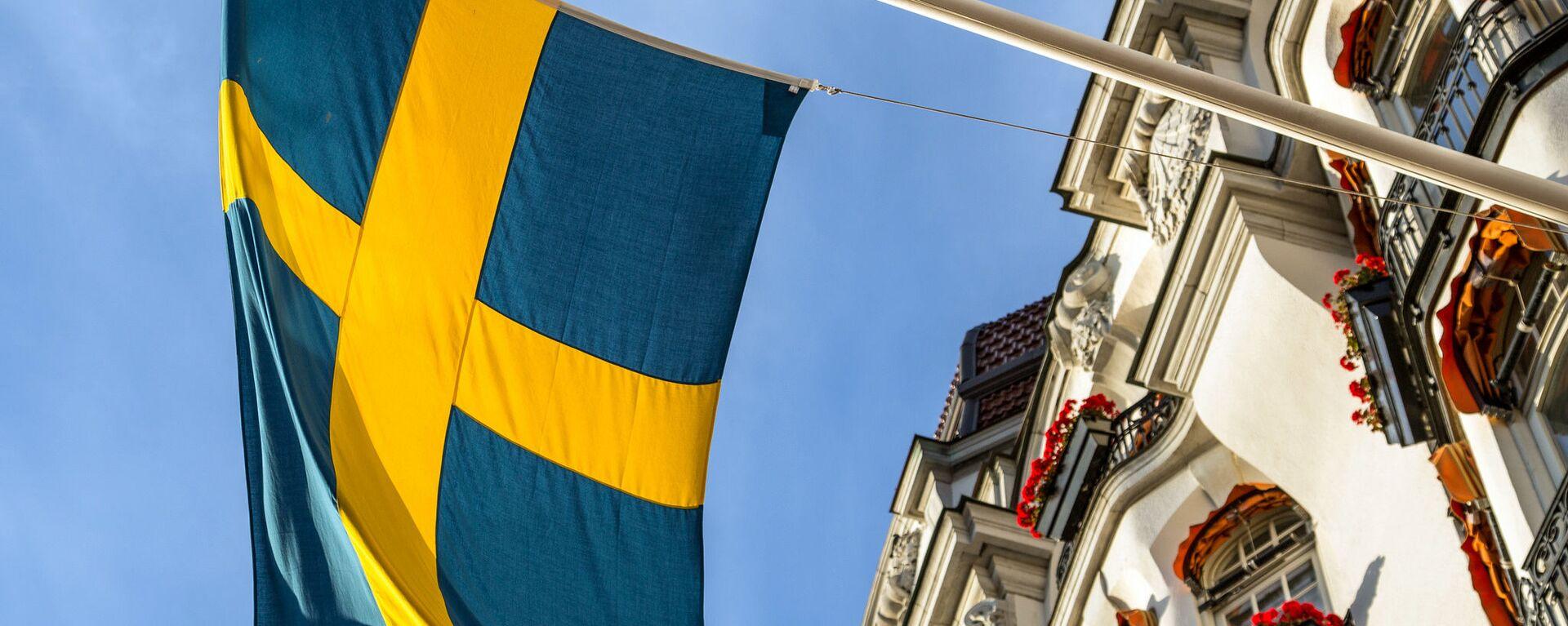 Švédská vlajka - Sputnik Česká republika, 1920, 03.05.2021