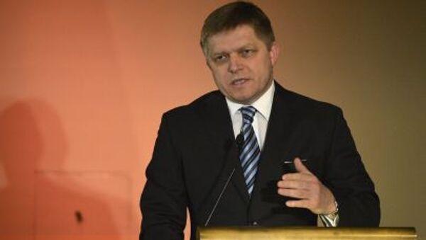 Slovenský premiér Robert Fico - Sputnik Česká republika