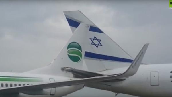Letadla z Německa a Izraele se srazila na přistávací dráze - Sputnik Česká republika