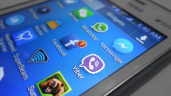 Viber, WhatsApp and other applications. - Sputnik Česká republika