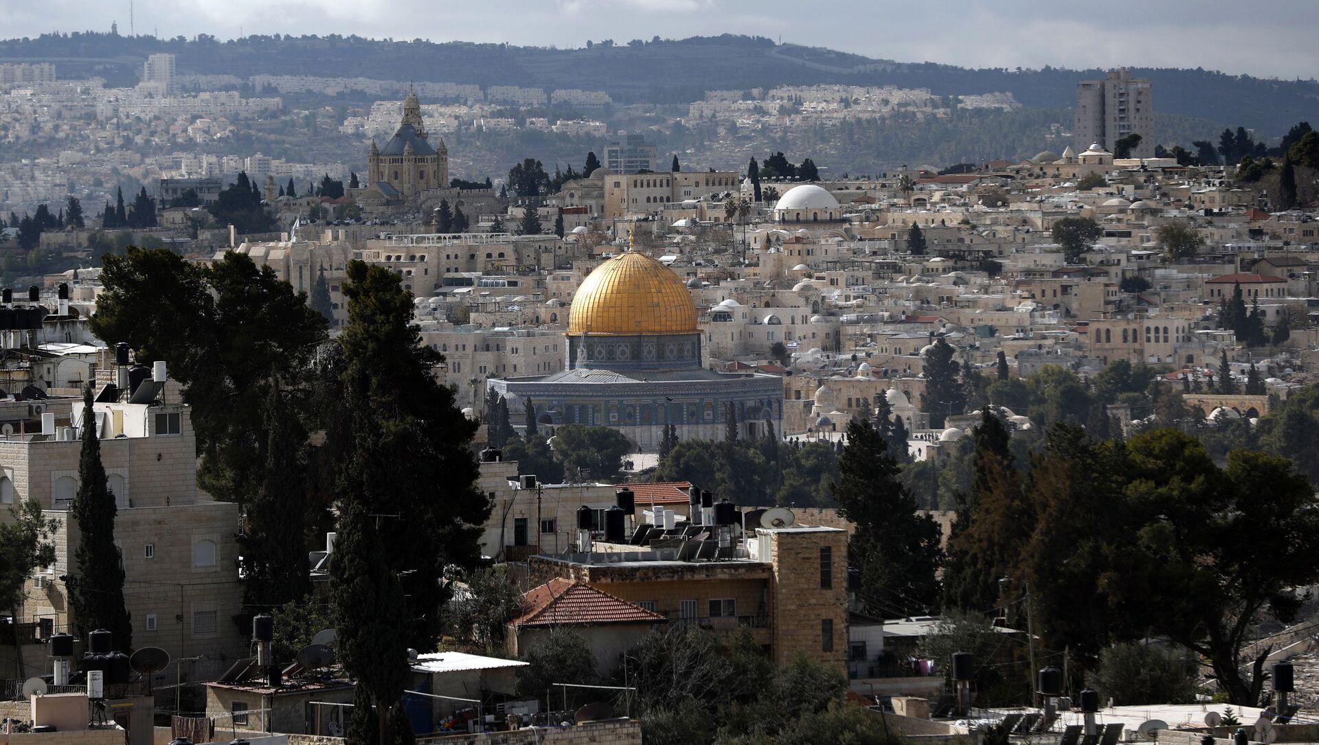 Pohled na Jeruzalém  - Sputnik Česká republika, 1920, 08.03.2021