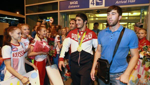 Abdulrašid Sadulajev, ruský zápasník ve volném stylu - Sputnik Česká republika