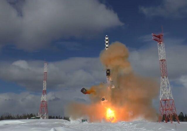 Zabiják protiraketové obrany: v Plesecku vyzkoušeli raketu Sarmat