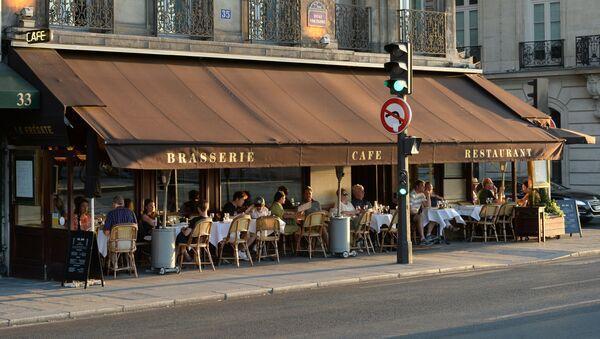 Kavárna v Paříži - Sputnik Česká republika