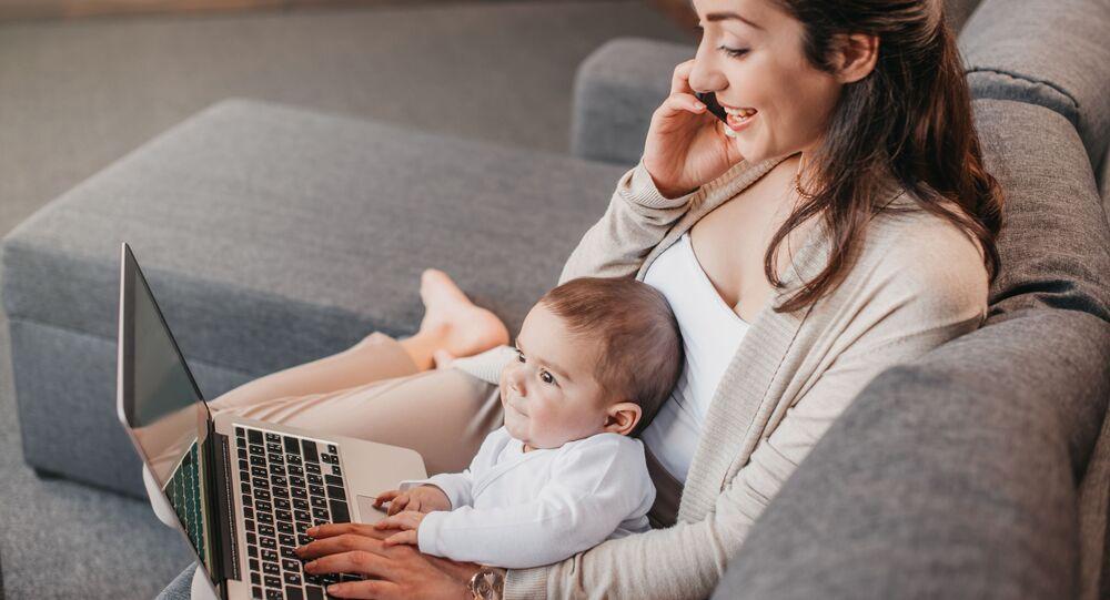 Maminka-podnikatelka