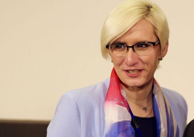 Bývalá ministryně obrany ČR Karla Šlechtová