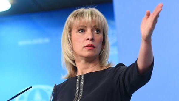 Mluvčí ruského ministra zahraničí Maria Zacharovová - Sputnik Česká republika
