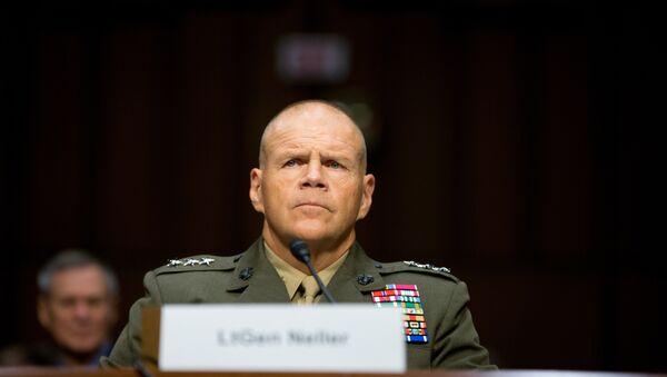 Velitel Sboru námořní pěchoty USA, generál Robert Neller - Sputnik Česká republika