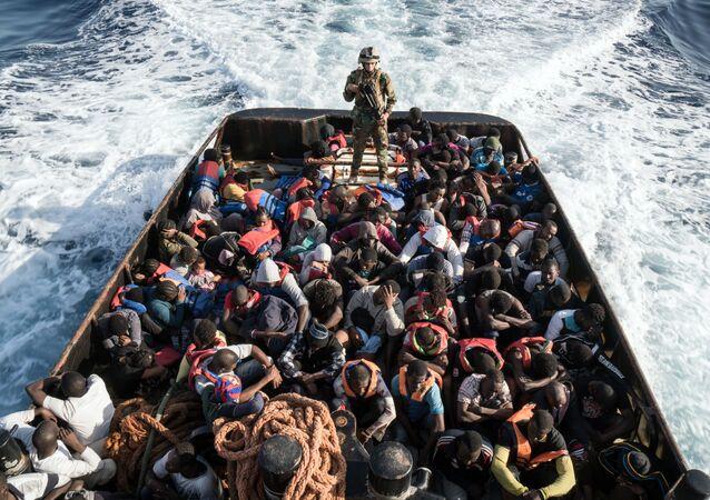 Nelegální migranti