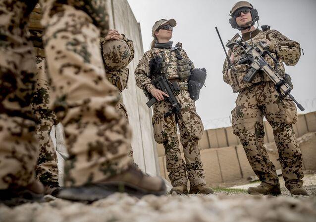 Vojáci Bundeswehru. Ilustrační foto