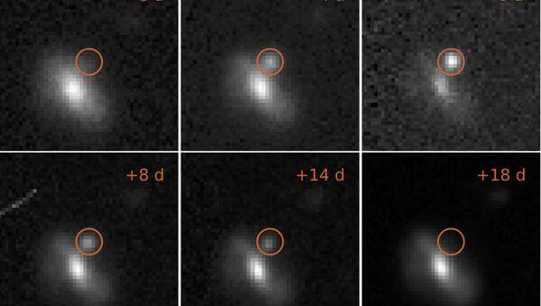 Astronomové zaznamenali tajemné kosmické výbuchy - Sputnik Česká republika