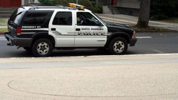 Policejní vůz v Kalifornii. Ilustrační foto - Sputnik Česká republika