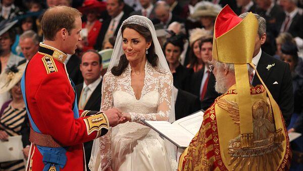 Svatba prince Williama a Kate Middletonové - Sputnik Česká republika