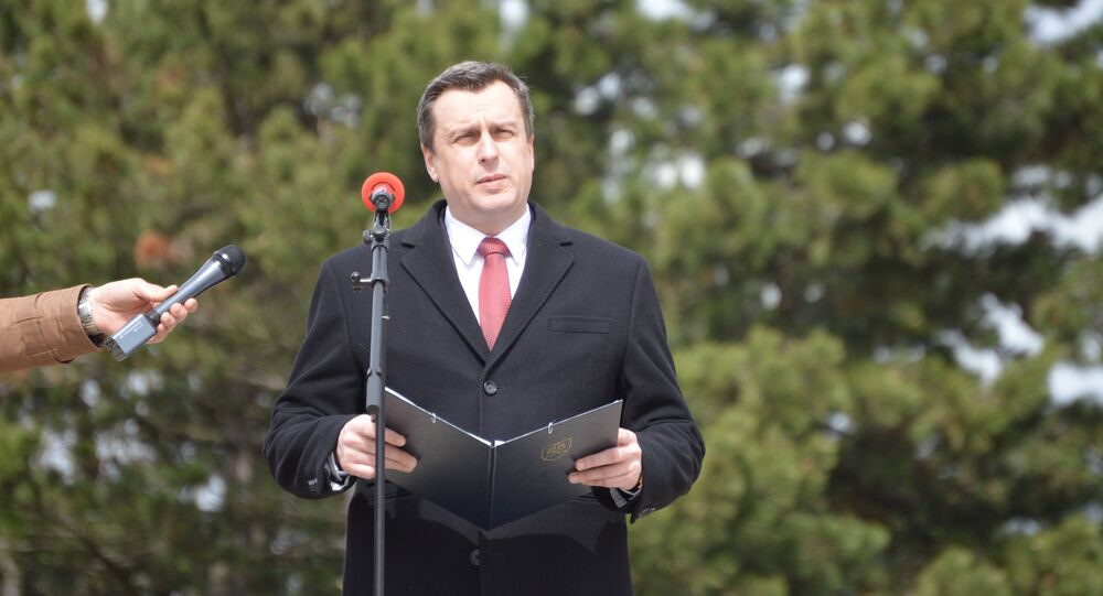 Predseda NR SR Andrej Danko