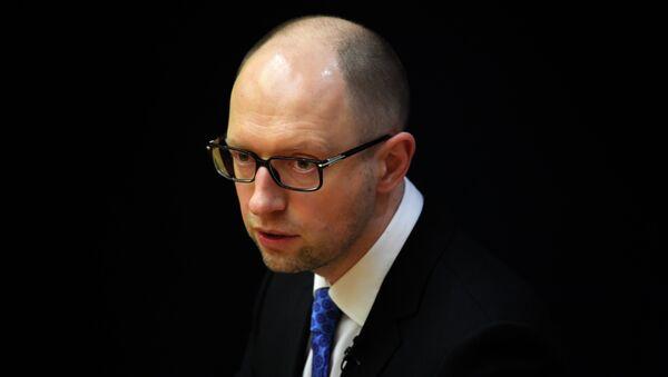 Ukrajinský premiér Arsenij Jaceňuk - Sputnik Česká republika