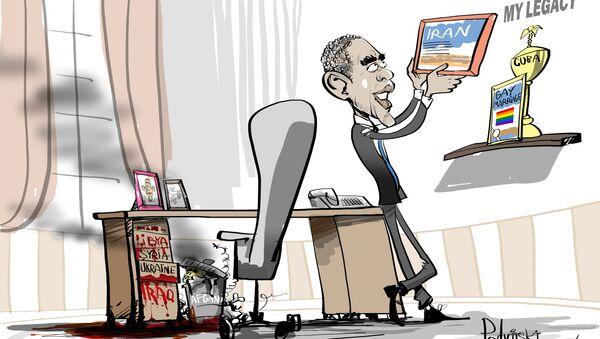 Obamovo dědictví - Sputnik Česká republika