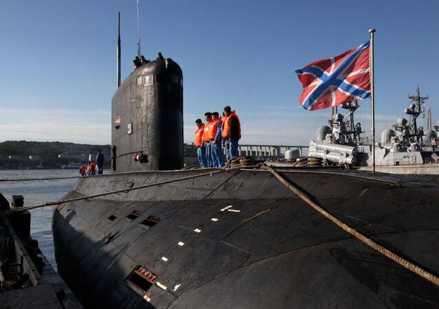 Ponorka projektu 636 Varšavjanka. Ilustrační foto