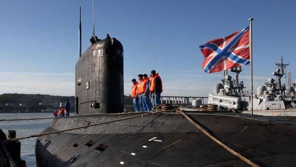 Ponorka projektu 636 Varšavjanka. Ilustrační foto - Sputnik Česká republika
