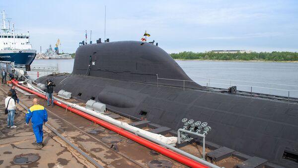 Mnohoúčelová atomová ponorka projektu 885 (0885) Jaseň - Sputnik Česká republika