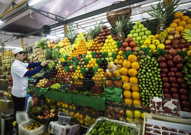 Trh v Moskvě