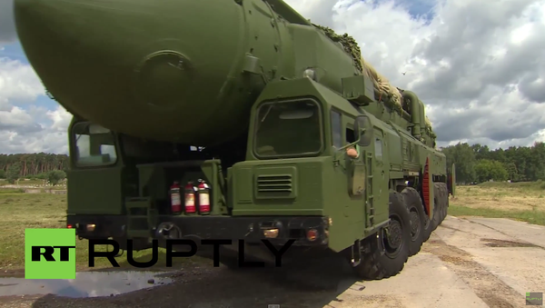 Cvičení strategických raketových sil Ruska - Sputnik Česká republika