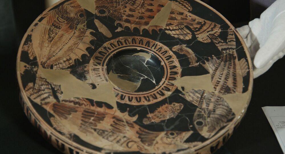 Národní poklad. Při výstavbě Krymského mostu našli keramiku ze 4. století př. n. l.