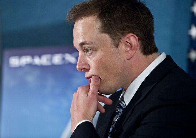 Zakladatel společnosti SpaceX Elon Musk