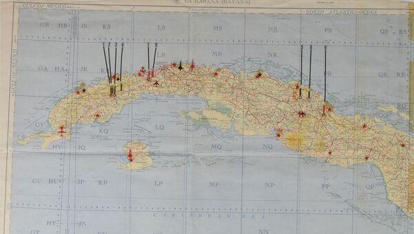 Tajná Kennedyho mapa s vojenskými objekty SSSR - Sputnik Česká republika