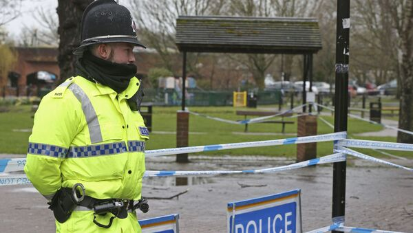 Policie v Salisbury - Sputnik Česká republika