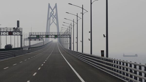 Most Hong Kong-Zhuhai-Macao - Sputnik Česká republika