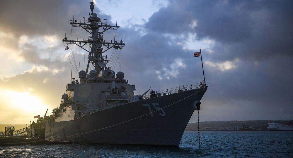 Torpédoborec USS Donald Cook