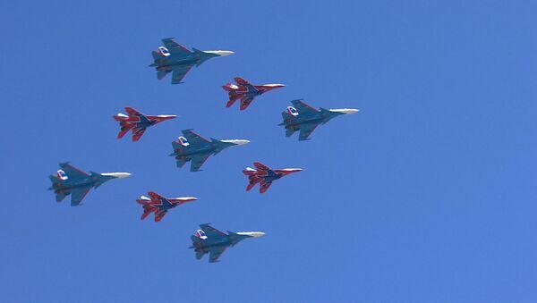 Příprava ke Dni vítězství v Moskvě - Sputnik Česká republika