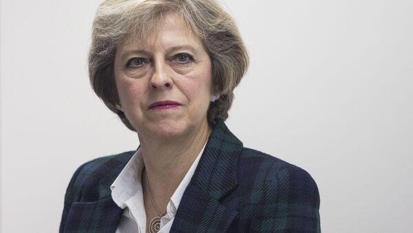Premiérka Velké Británie Theresa Mayová - Sputnik Česká republika